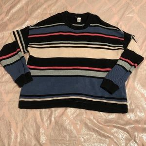 H&M striped long sleeve top
